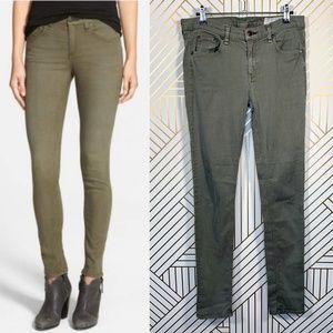 Rag & Bone The Skinny Jeans in Army Green